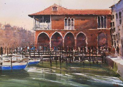 Fish market -Venice 20.75x14